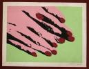 Lithographie Originale De Gabina Farova ( Gabriela Fárová ) 13 / 8 Velvet Revolution - Andy Warhol Style Pop Art - Lithographies