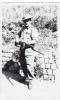 20569 Carte  Photo Militaire  La Chartreuse Belgique Liege 15 Mai 1950 - Soldat Fusils - Personnages