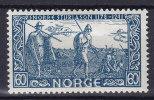 Norway 1941 Mi. 264     60 Ø Snorri Sturluson MH* - Norwegen