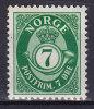 Norway 1941 Mi. 219      7 Ø Posthorn MH* - Norwegen