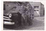 20575 Cinq 5 Photos8x5cm Démobilisation Bruxelles Belgique 27 Septembre 1951  Militaire Soldat Amoureux