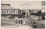 CPA 72 LE MANS - La Gare Des Tramways De La Sarthe Et Les Halles - Le Mans