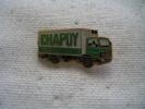 Pin´s Transports CHAPOY, Fraicheur, Service - Transportation