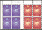 San Marino 1977 - 1007-08 - U.I.T. - Bloc 4x - MNH** - Ungebraucht