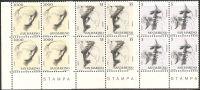 San Marino 1977 - 1009-11 - Virtù Civili III - Bloc 4x - MNH** - Ungebraucht