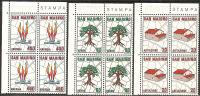 San Marino 1981 - 1079-81 - Piano Regolatore - Bloc 4x - MNH** - Saint-Marin