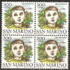 San Marino 1982 - 1108 - Pro Rifugiati - Bloc 4x - MNH** - Saint-Marin
