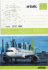 Car118 Promozionale Promotional Air Baltic Compagnia Aerea Airline Compagnie Aérienne Aereo Plane Avion Latvia Estonia - 1946-....: Era Moderna