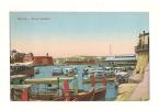 Cp, Malte, Grand Harbour, écrite - Malte