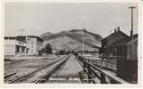 Carcross Yukon Canada, Street Scene Railroad C1940s/50s Vintage Real Photo Postcard - Yukon