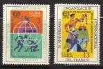 Cuba 1969 Scott# 1402-03 Mint Never Hinged - Sin Clasificación