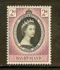 BASUTOLAND 1953 Mint Hinged Stamp(s) Coronation QE II 45 - 1933-1964 Crown Colony