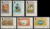 Isle Of Man 1976 Mi 82 /7 YT 75 /0 ** Ceramic Art /  Kunsthandwerk / Art Céramique - Europa Cept - Man (Eiland)