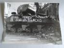 Photo Tirage Originale - LIBERATION DE PARIS 1945 - Dimensions 18 Cm X 24 Cm - Ici Sont Morts 3 Soldats Français - LAPI - Guerre, Militaire