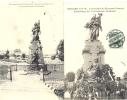 2 Cpa Noisseville.Inauguration Monument Français.1908 - Non Classés