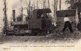 """Cpa 16 - Saint-Fort Sur Le Né - La """" Marie-Louise """" - Train - Menu """" Bidet Traiteur """" Au Verso - France"""