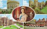 26092     Regno  Unito,    Windsor  Castle,  VG  1973 - Windsor Castle