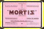 Produits Pour Destruction Des Nuisibles -  Buvard -  Mortis  -  Montreuil Sous Bois  - 93 Seine St Denis - Animaux