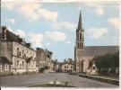 SAINT LOUP Sur THOUET - La Mairie L'église , CPSM GF - Unclassified