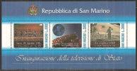 S. Marino 1992 . N. 36 - Foglietto TV Di Stato - MNH** - Blocs-feuillets