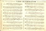 3 CPA Chansons Et Partitions - Musique Et Musiciens