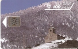 AND-010 TARJETA DE CAP.SAN CRISTOBAL  SERIE 44375 - Andorra