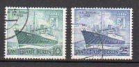 BERLIN      Oblitéré     Y. Et T.   N° 111 / 112       Cote :  6,50 Euros - [5] Berlin