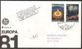 S. Marino 1981 - FDC 1069-70 - Europa - Viaggiata - FDC