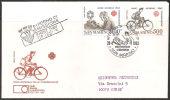 S. Marino 1983- FDC 1121-22 - Anno Delle Comunicazioni - Viaggiata - FDC