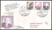 S. Marino 1984- FDC 1132-34 - Preolimpica - Viaggiata - FDC