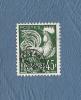 France Préo :  YT : N°117 -  OBL :  Type  Coq Gaulois - 1953-1960