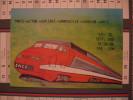 TGV Paris - Nice   3ème Salon CPA  CPM 19 Et 20 Septembre 1987 Illustrateur JC Sizler - Trains