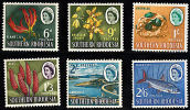 Msc182 Southern Rhodesia, TO CLEAR, Six Stamps From The 1964 Series,  Mounted Mint (cv = £16+) - Southern Rhodesia (...-1964)