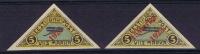 Estland: 1923 Airmail  Michel Nr 41+42, MH/Neuf* - Estonie