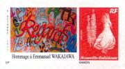 Nouvelle Caledonietimbre Personnalise Prive Association Caledonienne Handicapes Poeme Poesie Wakajawa Handicap 2012 - Non Classificati