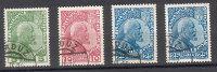 Liechtenstein 1912 - 1915 - Yvert 1 - 3 & 3a - Used - Liechtenstein