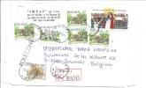Devant D´enveloppe, Lettre Recommandée Vers La Belgique - 12.10.99 - 1944-.... Repubblica