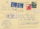 $3-2089- Democratica Su Intero Cartolina Postale N.140 Raccomandata Da Mazara Del Vallo X Città - 6. 1946-.. Republik