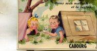 Cabourg  14 Carte A Système (Viens Sous Ma Tente  Ouvre La Fenetre Et Tu Verras) - Cabourg