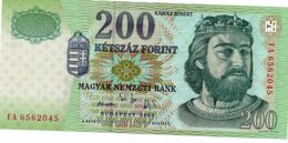 HUNGARY 2000 FORINT 2000 COMM. FOLDER P186 UNCIRCULATED - Hongarije