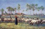 CPA...EGYPTE.LE CAIRE..  BERGERS BEDOUINS . .R. TUCK´S.OILETTE.. PRIX : 1,49 € - Cairo