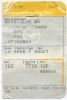 Boarding Pass - Lufthansa- LH4636 - Stuttgart-Brussels - 26OCT2007 - Instapkaart