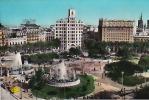 Plaza Cataluna Y Catedral Al Fondo - Barcelona