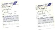 2 Boarding Pass - Brussels Airlines - SN2579/SN2586 - Brussels-Berlin Tempelhof-Brussels - 16JUN2006 - Instapkaart
