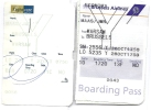 2 Boarding Pass - LOT/SN Brussels - LO232/SN2556-LO5235 - Brussels-Warsaw-Brussels - 27-28OCT2005 - Instapkaart