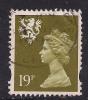 SCOTLAND GB 1993 - 98  19p BISTRE  USED MACHIN STAMP SG 81..( A836 ) - Regional Issues