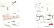 2 Boarding Pass - Virgin Express/Swiss - TV134/SN2718 - Brussels-Geneva-Brussels - 23-24SEP2005 - Instapkaart
