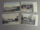 Carte Postale - JAPON - Lot De 4 Cartes (7-8/674) - Japon