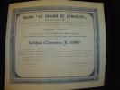 "Certificat D'inscription""Casino De Stavelot""1936 - Casino"