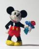Sor049 Sorpresina Disney - Topolino Con Mazzo Fiori   Micky Mouse With Flowers   Mickey Mouse Avec Fleures   Walt Disney - Otros